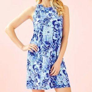 NWT Luella Dress in Coastal Blue Catch and Keep